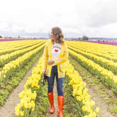 seattle fashion blogger, seattle blogger, fashion blogger, lifestyle blogger, tulip fields