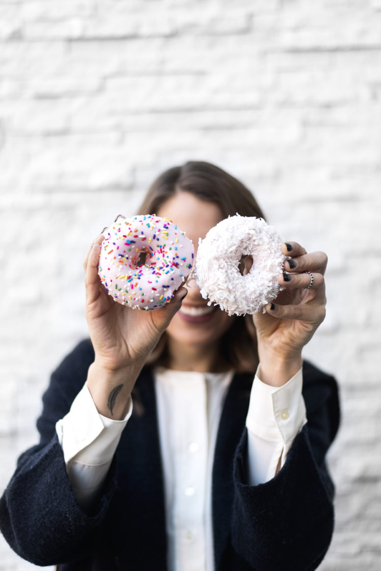 donut date, top pot donuts, seattle fashion blogger, seattle blogger, lifestyle blogger