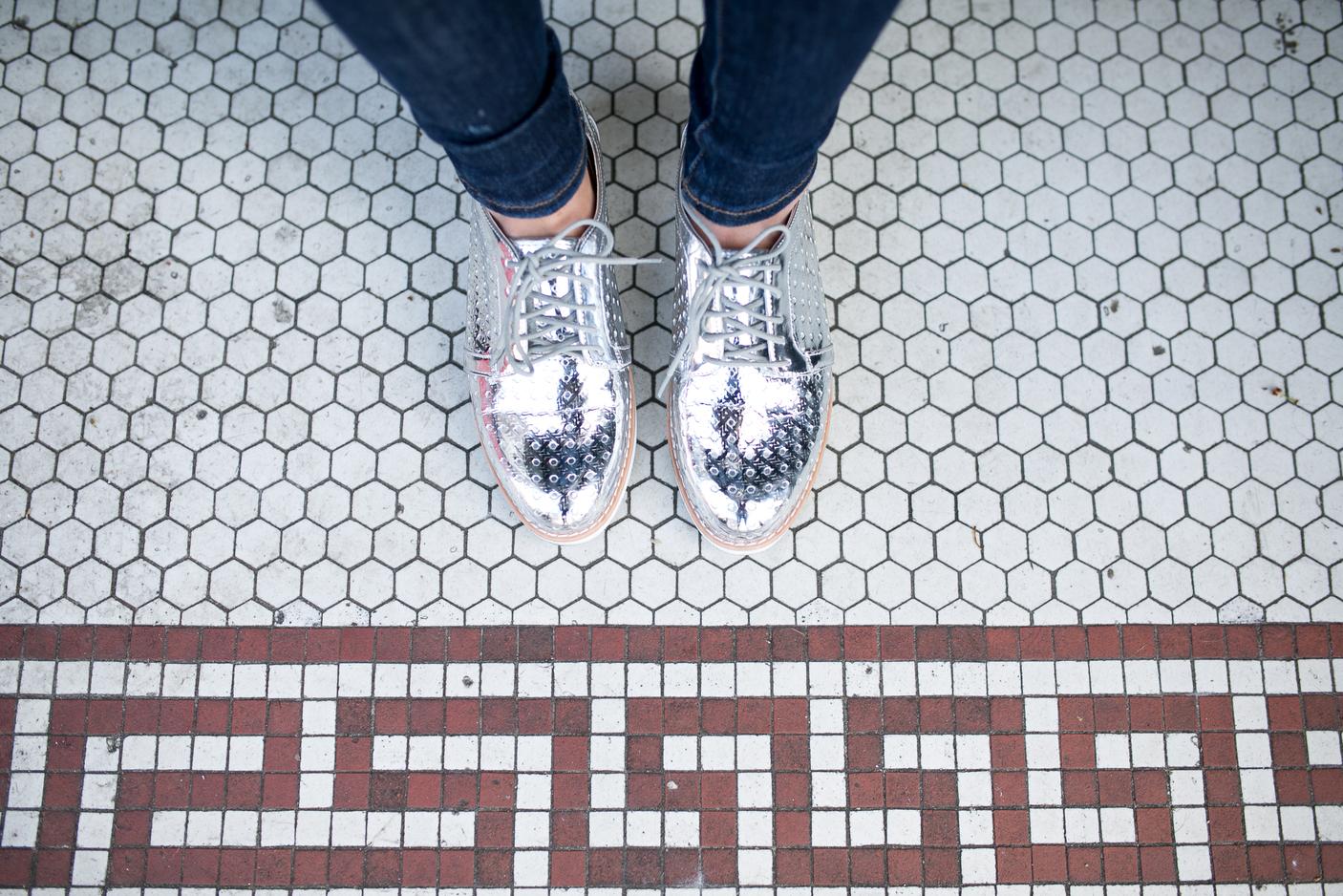 diary of this girl megan, seattle fashion blogger, shoe shot