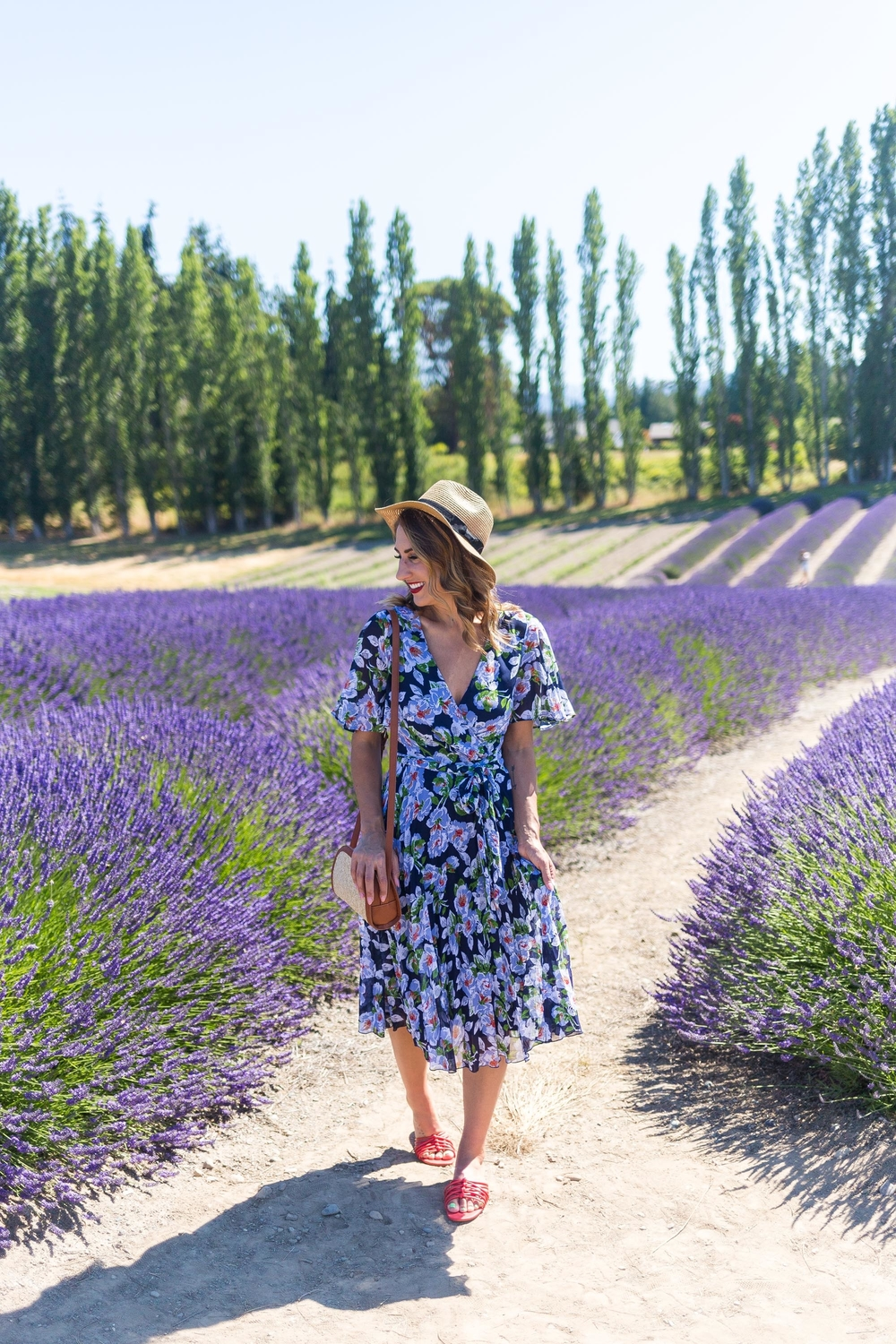 seattle fashion blogger, sequim lavender festival