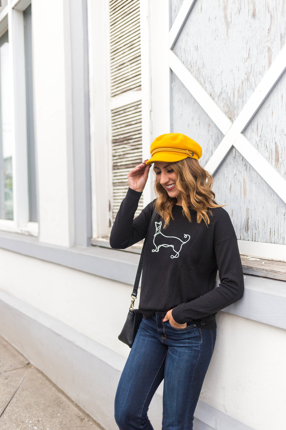 dachshund sweater, seattle blogger, diary of this girl megan