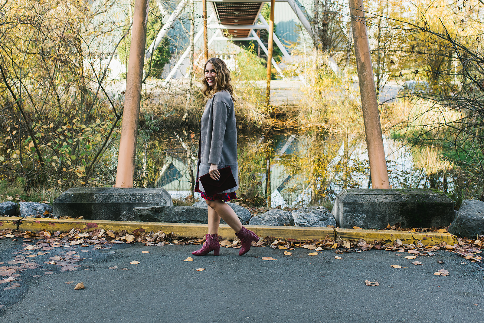 diary of this girl megan, seattle fashion blogger, sas shoes, holiday fun