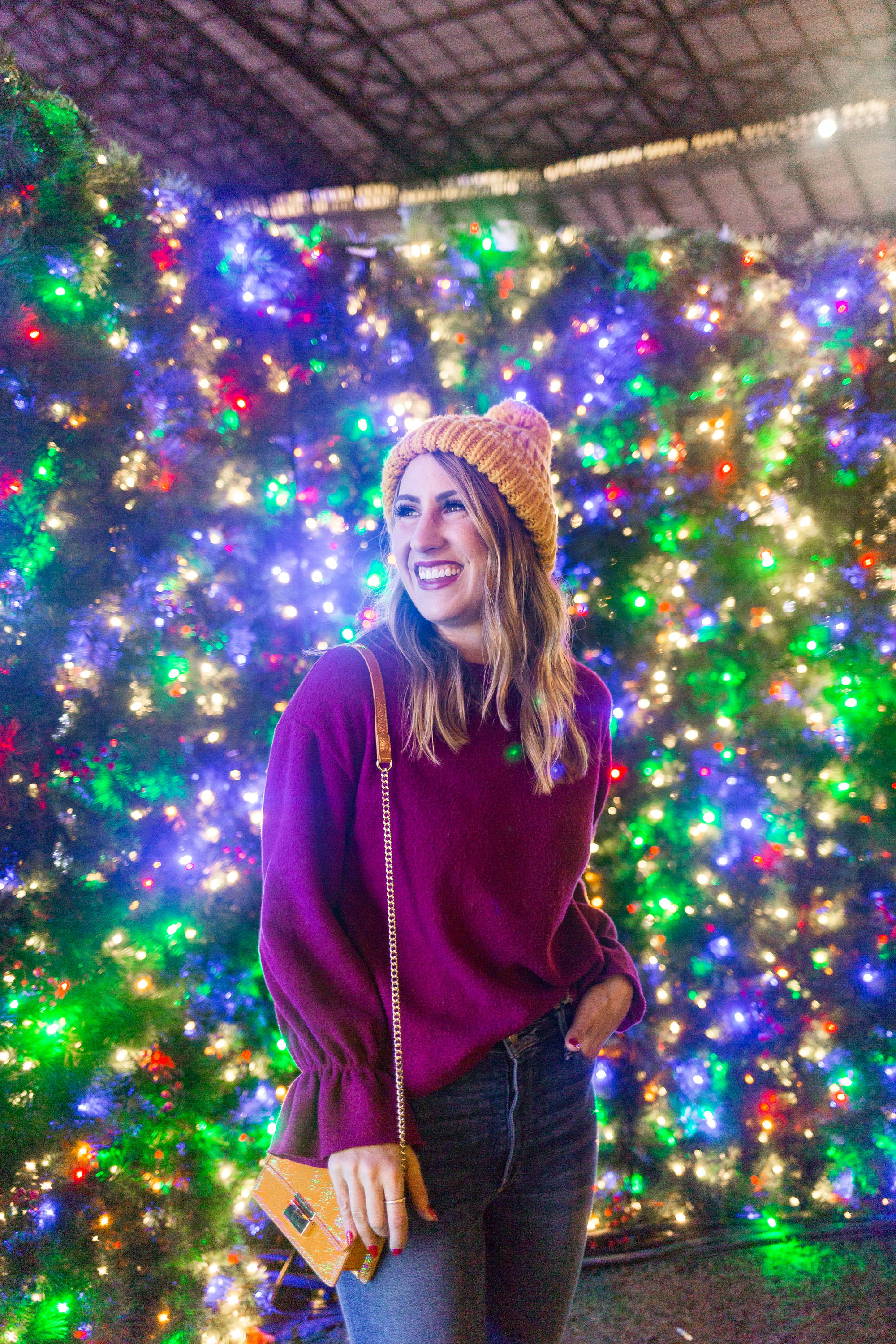 enchant christmas, seattle fashion blogger, diary of this girl, holiday fun