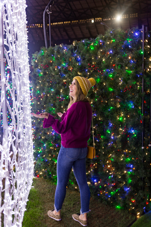 enchant christmas, seattle fashion blogger, diary of this girl, holiday fun