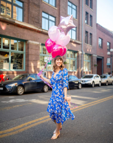 diary of this girl megan, eliza j dress, birthday thoughts