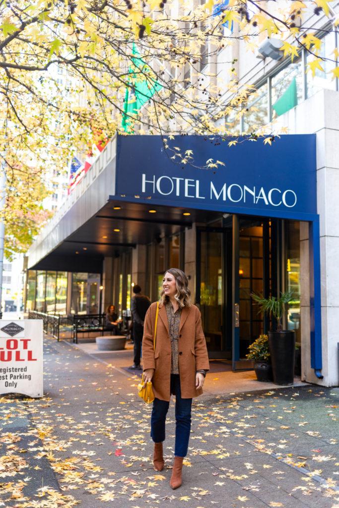 hotel monaco seattle, kimpton hotel, stay human project, seattle