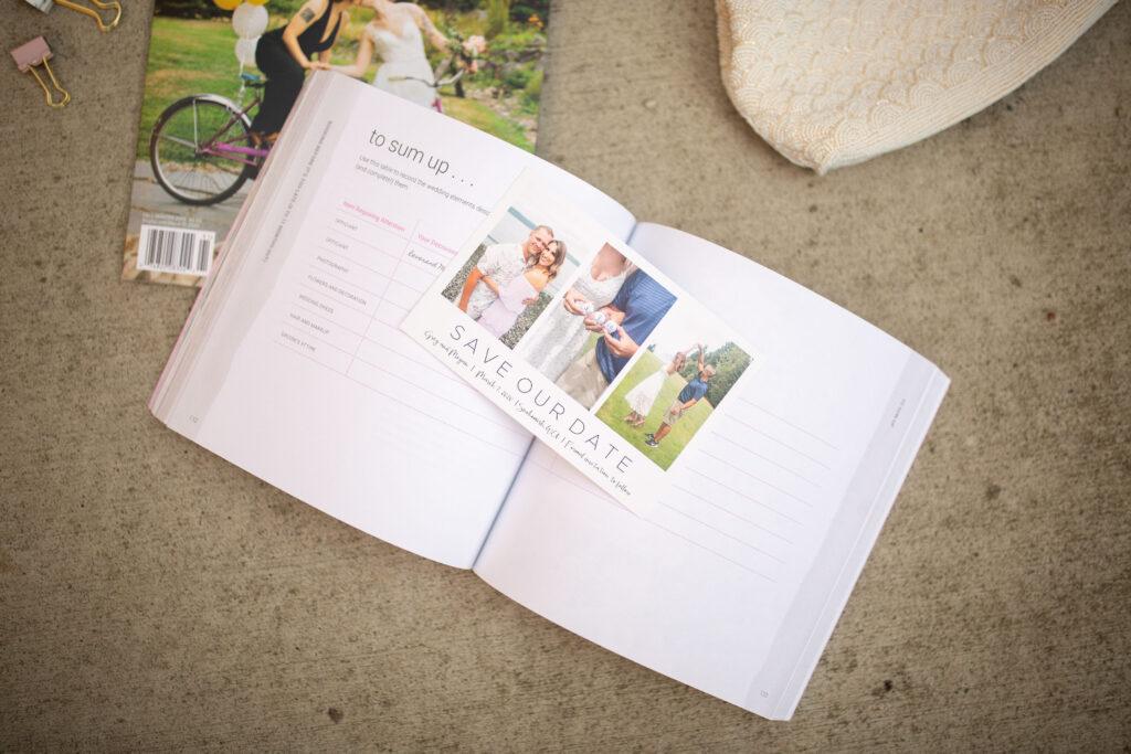 save the dates, wedding invitations, wedding planning, catprint