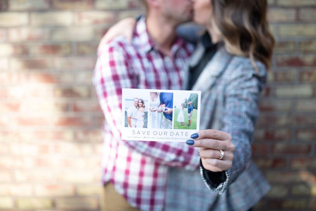 save the date cards, wedding invidation, wedding planning, catprint